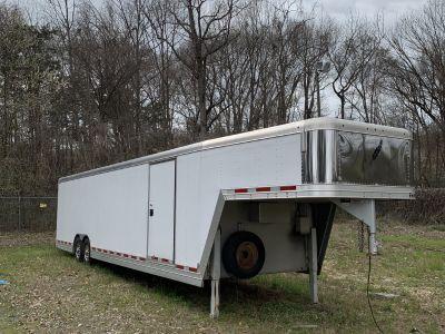 Featherlite 32ft enclosed trailer