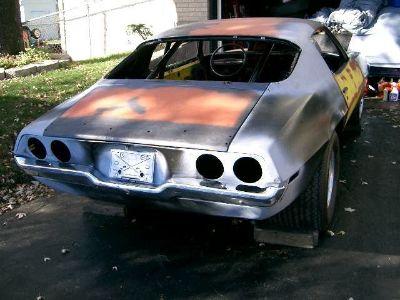 70 Camaro project