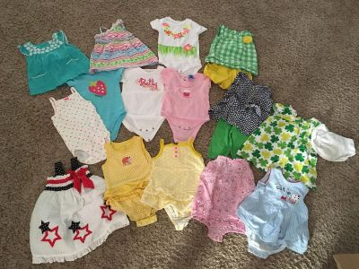 12 Month Summer Outfits