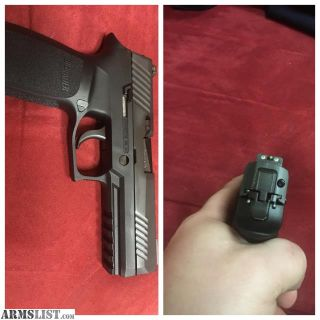 For Sale: Selling my SIG P320 Tacops full