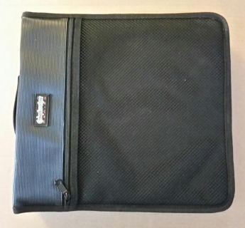 Conductor series CD/DVD zippered case