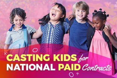 Kid, Teen, & Adult Models (New & Experienced) wanted