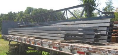 Steel Roof Trusses { 9 of them }
