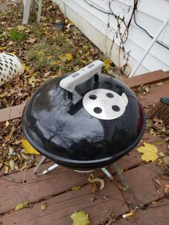 Small Weber grill