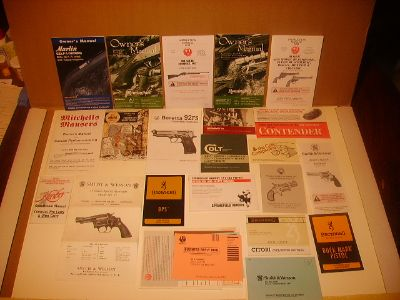 Factory New Gun  Manuals ,Hard To Find./New Prices..