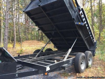 Price reduced griffin 12ft dump trailer