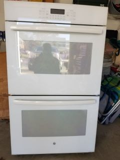 GE BUILT IN ELECTRIC DOUBLE WALL OVEN