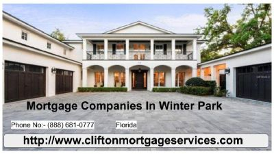 Looking for the top Mortgage Companies In Winter Park?