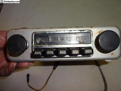 Early Blaupunkt Hamburg Radio