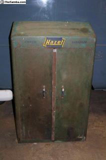 1951 Hazet 100 Wall Mounted Tool Box