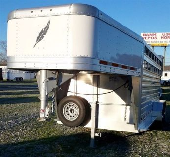Featherlite 16ft Stock Gooseneck