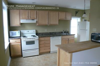 Great 2 bd Apartment near Patterson Park!