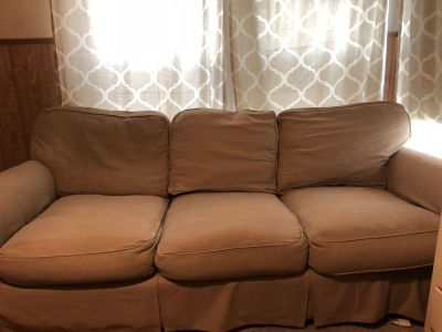 Tan couch