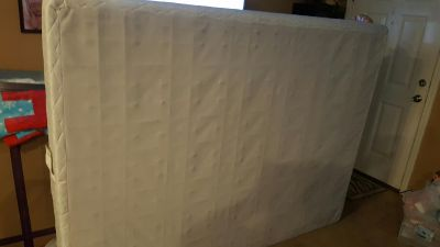 Queen size box spring need gone today