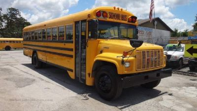 2000 GMC Bluebird GASOLINE School Bus- ONLY $8,500!!