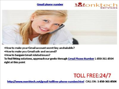 Dial Gmail signal and Unwind 1-850-361-8504