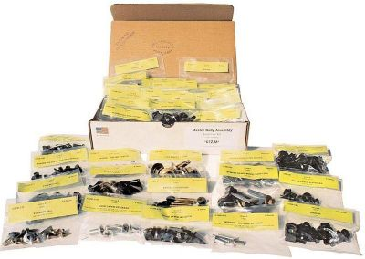 Sell 1969 MUSTANG MASTER BODY BOLT KIT-69 MUSTANG MASTER BODY BOLT KIT motorcycle in Sheffield Lake, Ohio, US, for US $169.00