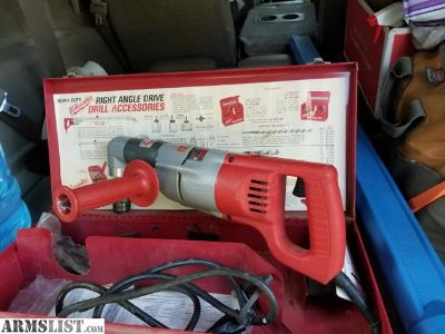 "For Sale: Milwaukee 1 1/2"" Angle Drill"