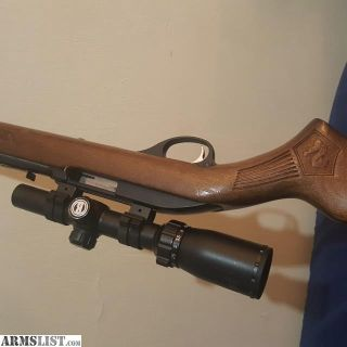 For Sale: Marlin 60 engraved stock w scope 22
