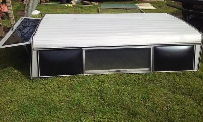 $100, long bed aluminum cer