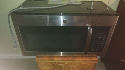 above the range microwave oven