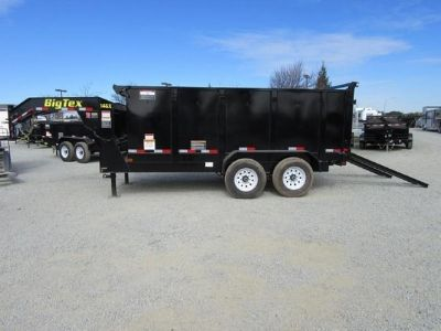 Big Tex 14GX Dump Trailer 14 or 16 w/ 4 Sides