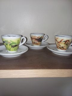 Collectable tea cups