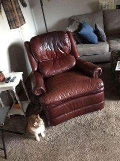 Leather Lift Reclining Chair