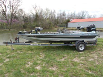 1992 Ranger 375V DUAL CONSOLE W/ MERCURY 115 & TRAILER Bass Boats West Plains, MO