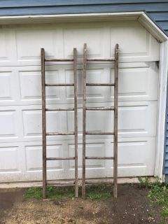 Sturdy wooden ladders(price for each)
