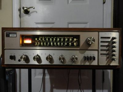 VINTAGE THE FISHER 400-T TUNE-O-MATIC STEREO RECEIVER