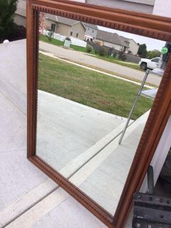 Large and heavy mirror.