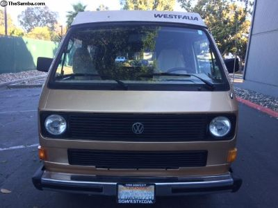 1985 VW Vanagon Westfalia Full Camper Pop Top
