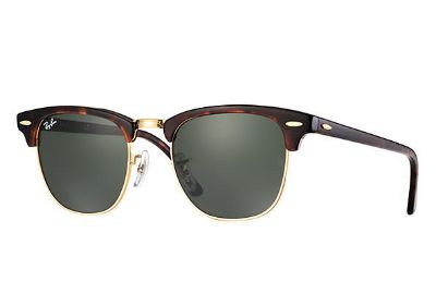 Ray Ban Clubmasters- tortoise with gold
