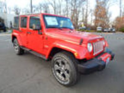 2018 Jeep Wrangler Unlimited Red, 10 miles