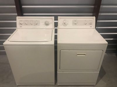 Heavy Duty Washer and Dryer (Electric)