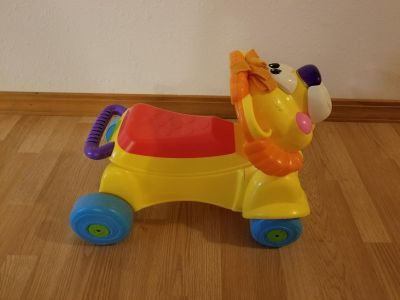 Fisher Price Stride and Ride Lion