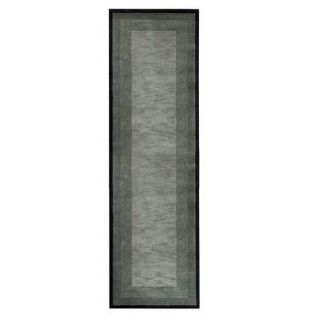 Rug Home Decorators Collection Karolus Gray and Black 2 ft. 6 in. x 10