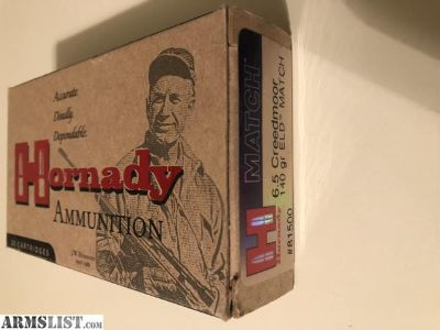 For Sale: 6.5 Creedmoor Ammo