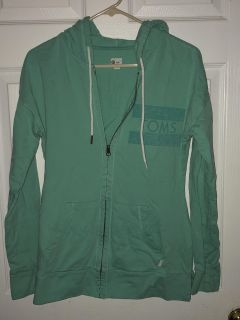 TOMS light weight hooded jacket. Great condition. Size M