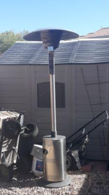 Endless summer propane heater