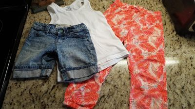 Girls summer outfit size 5T