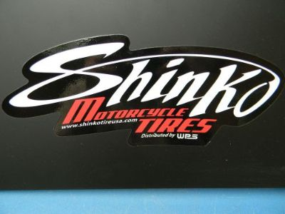 Find Vintage Metal Sign New Old Stock Shinko Motorcycle Tire Display NOS SIGN Never motorcycle in Antioch, Tennessee, United States