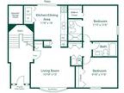 Maple Lane Apartments - Style B2 -Two BR, Two BA