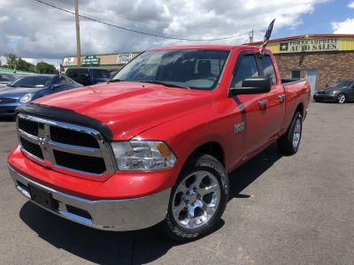2013 DODGE RAM 1500 QUAD CAB SLT PICKUP 4D 6 1/3 Ft V8, FLEX FUEL 4.7 Liter