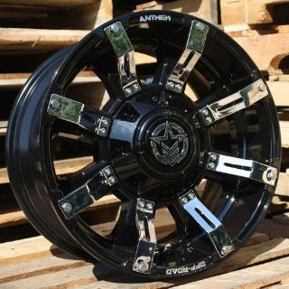Buy 18x9 Gloss Black Anthem Defender A711 5x150 & 5x5.5 -12 Wheels LT295/70R18 Tires motorcycle in Saint Charles, Illinois, United States, for US $2,390.92