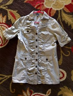 Absolutely adorable dress/long shirt size L $5