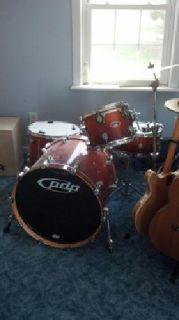 PDP fx series drum set