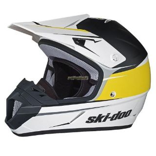 Buy Ski-Doo XC-4 Cross Drift Helmet - Yellow motorcycle in Sauk Centre, Minnesota, United States, for US $135.99