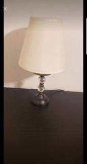 Night stand tables and lamps